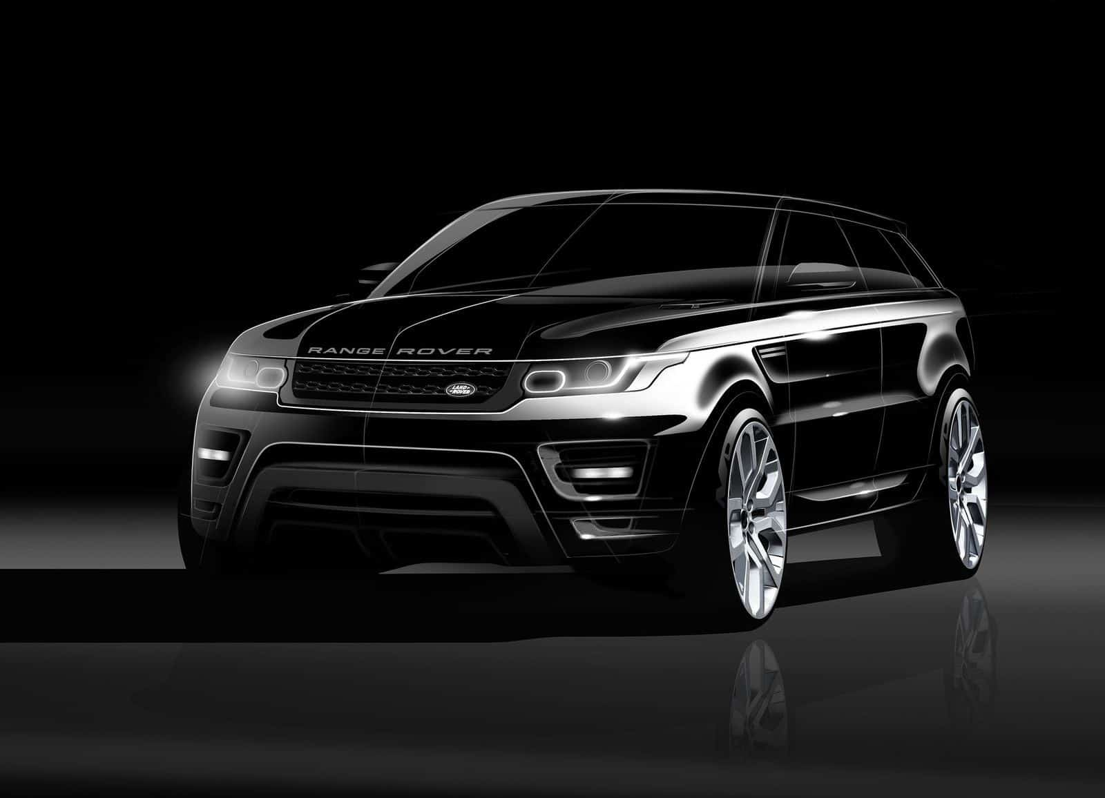 new range rover sport sketches and renderings. Black Bedroom Furniture Sets. Home Design Ideas