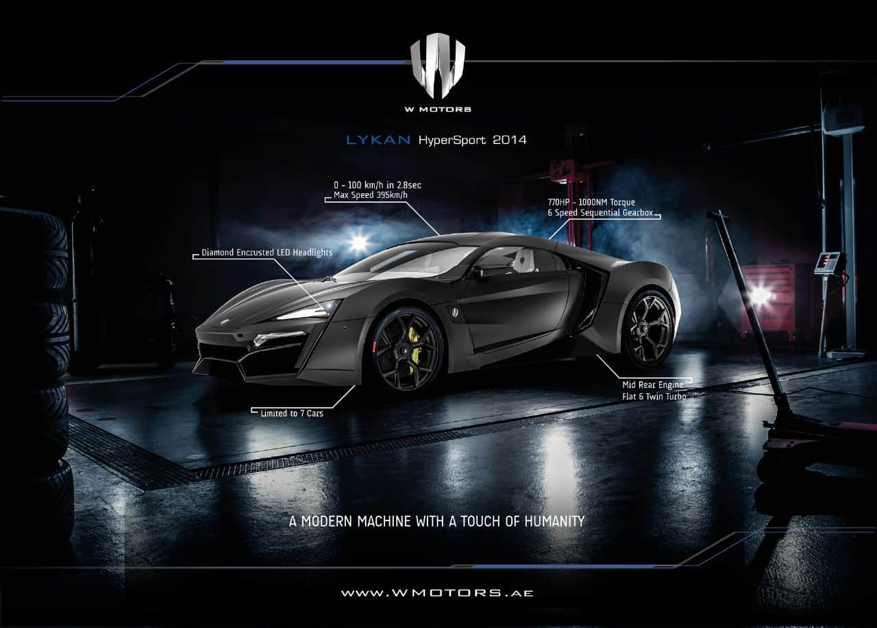 Inside W Motors Creators Of The Lykan Hypersport