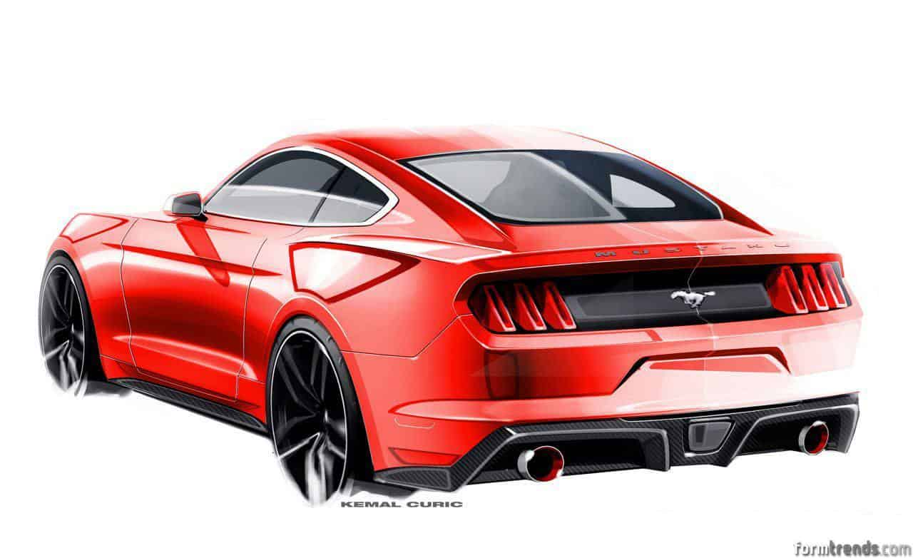meet the designers 2015 ford mustang. Black Bedroom Furniture Sets. Home Design Ideas