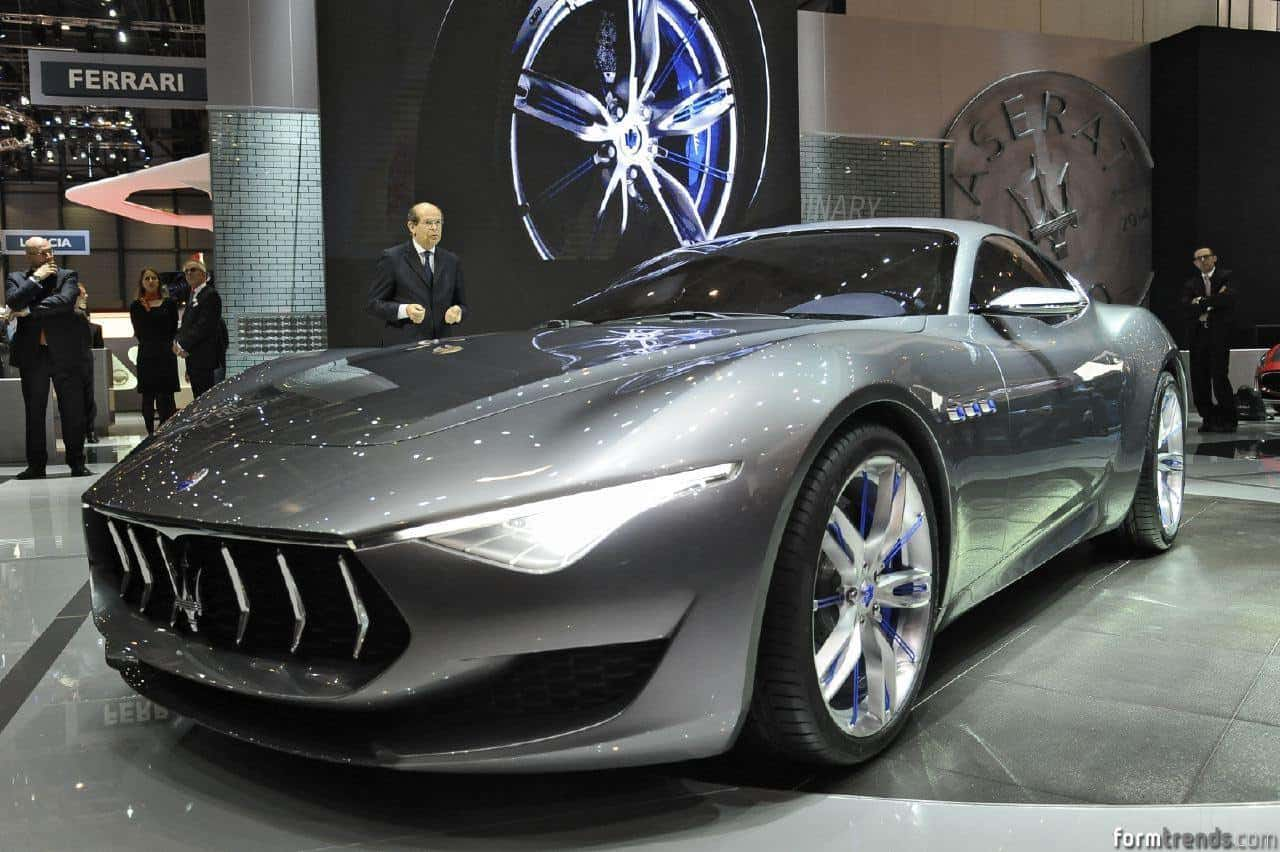 maserati alfieri concept design process illustrated by its creators. Black Bedroom Furniture Sets. Home Design Ideas