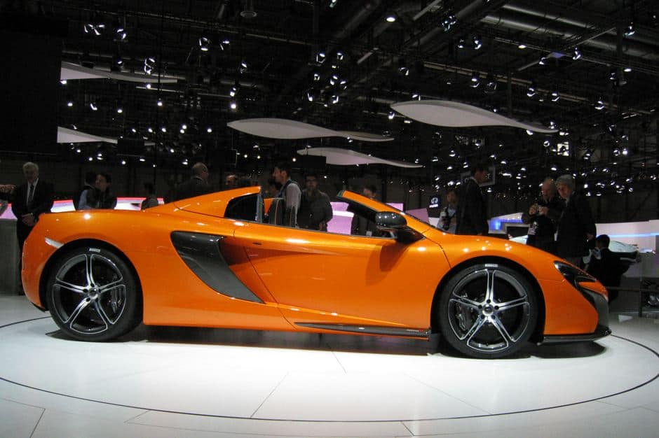 Being Geneva, the show had plenty of exotic and exclusive cars as well ...