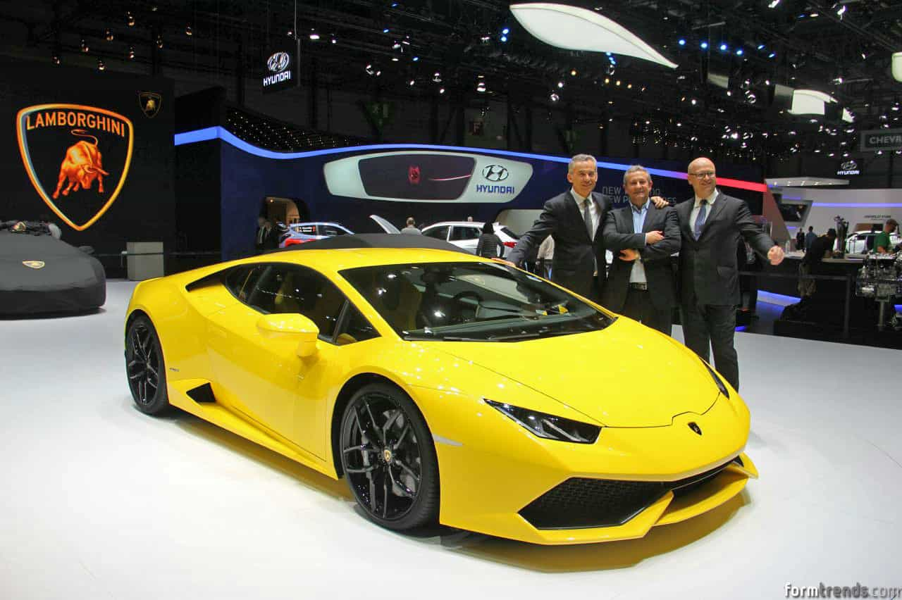 Lamborghini introduced the Huracan . No surprise here. And it is ...