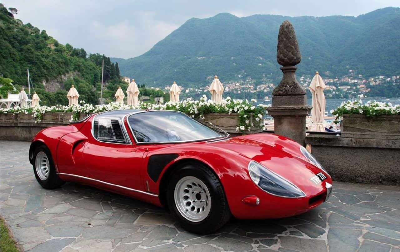 Revisiting The 1967 Alfa Romeo Tipo 33 Stradale on 3d car windows