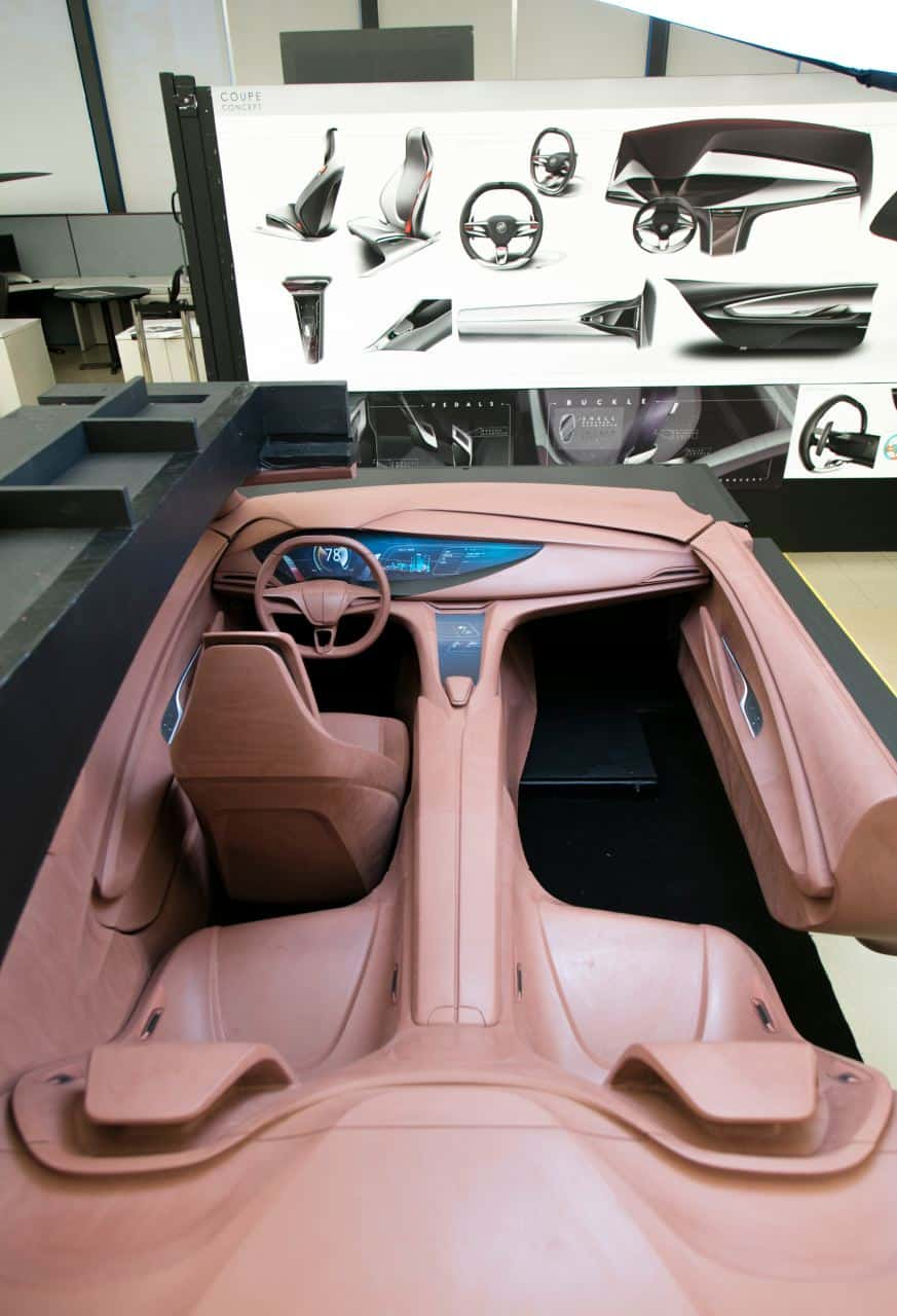 how clay sculptors helped buick avista designers achieve their vision. Black Bedroom Furniture Sets. Home Design Ideas