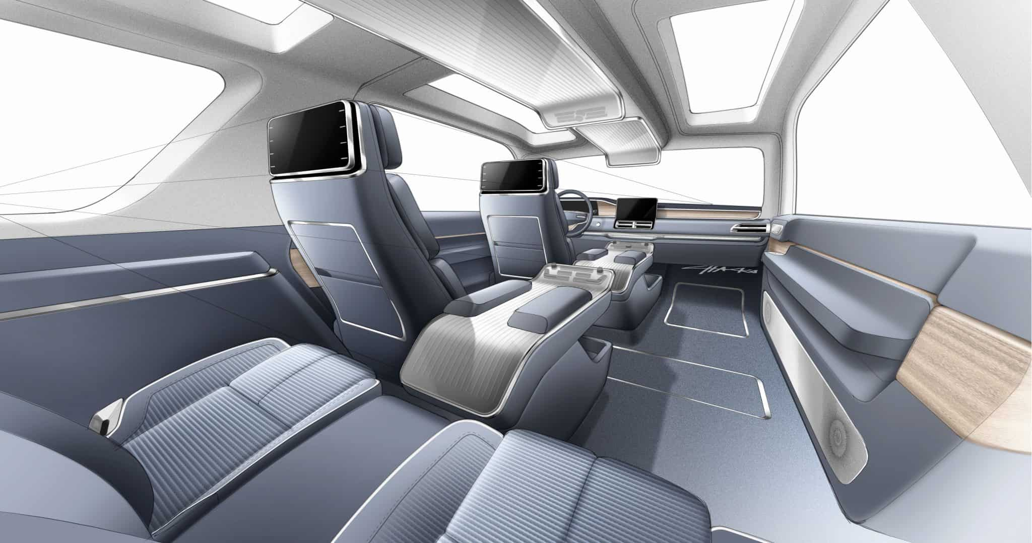 Design story lincoln navigator concept - Car interior design ...