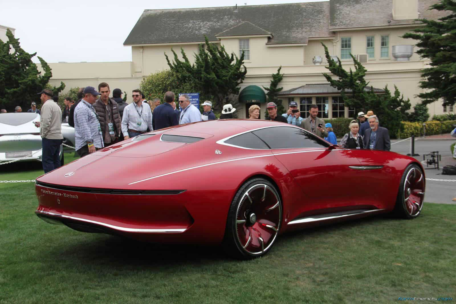 Maibach Car Vision Mercedes Maybach 6 Car Explained By