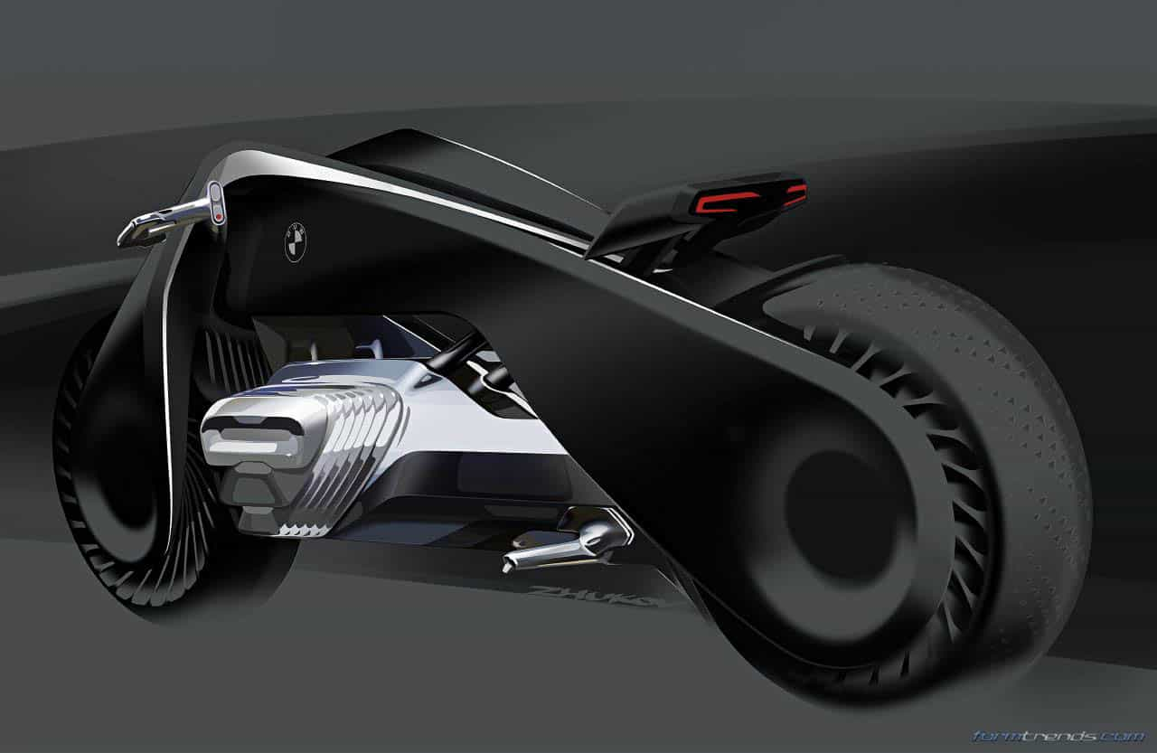bmw motorrad design director on the vision next 100 concept. Black Bedroom Furniture Sets. Home Design Ideas