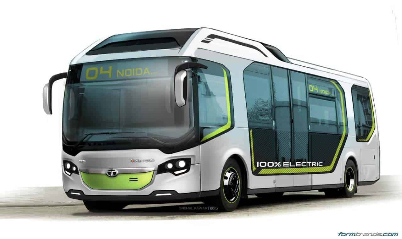 Tata Ultra Electric Bus Concept Looks To Future Of Public