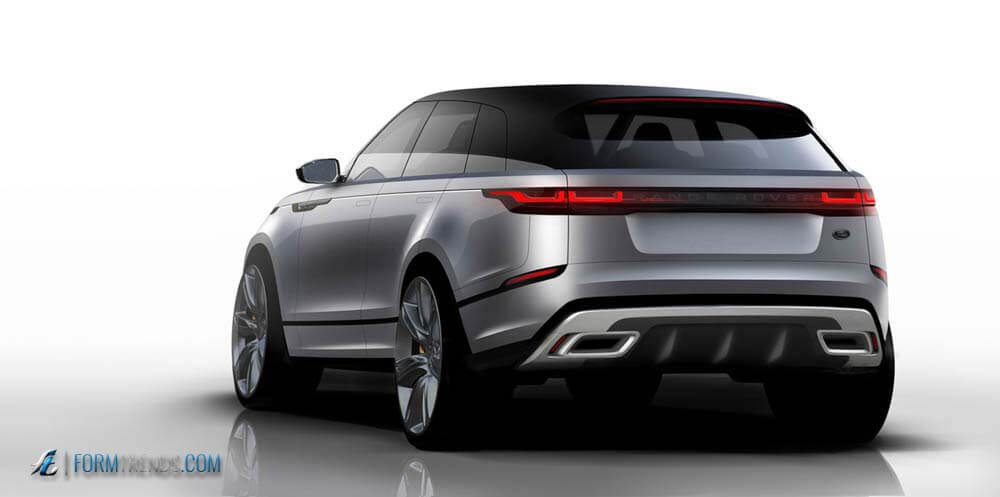 dissecting the design of the range rover velar the brand 39 s fourth model. Black Bedroom Furniture Sets. Home Design Ideas