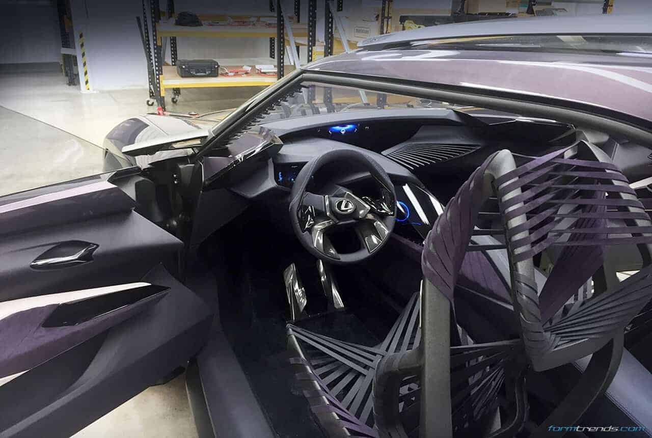 Walkaround The Lexus Ux Concept With Toyota S Ed2 Designers