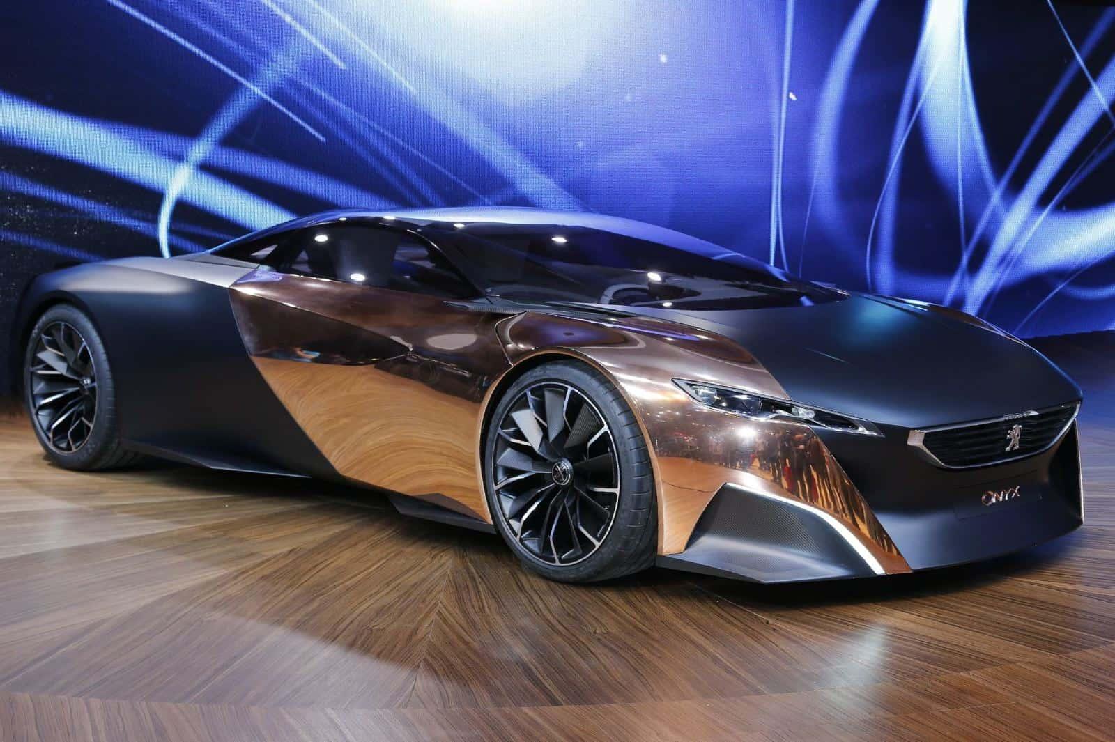 Meet The Designers Peugeot Onyx Concept