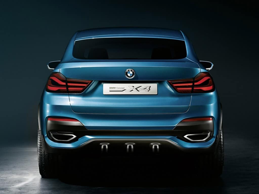 Bmw Previews X4 Concept