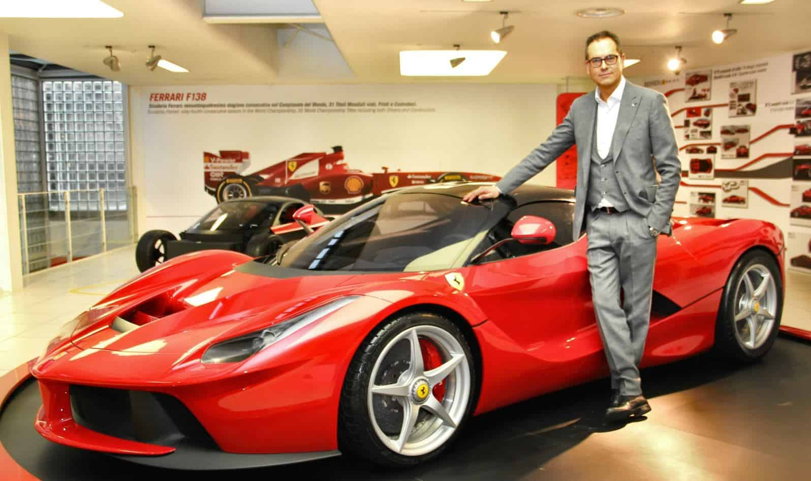 Ferrari S Flavio Manzoni On The Design Of Laferrari