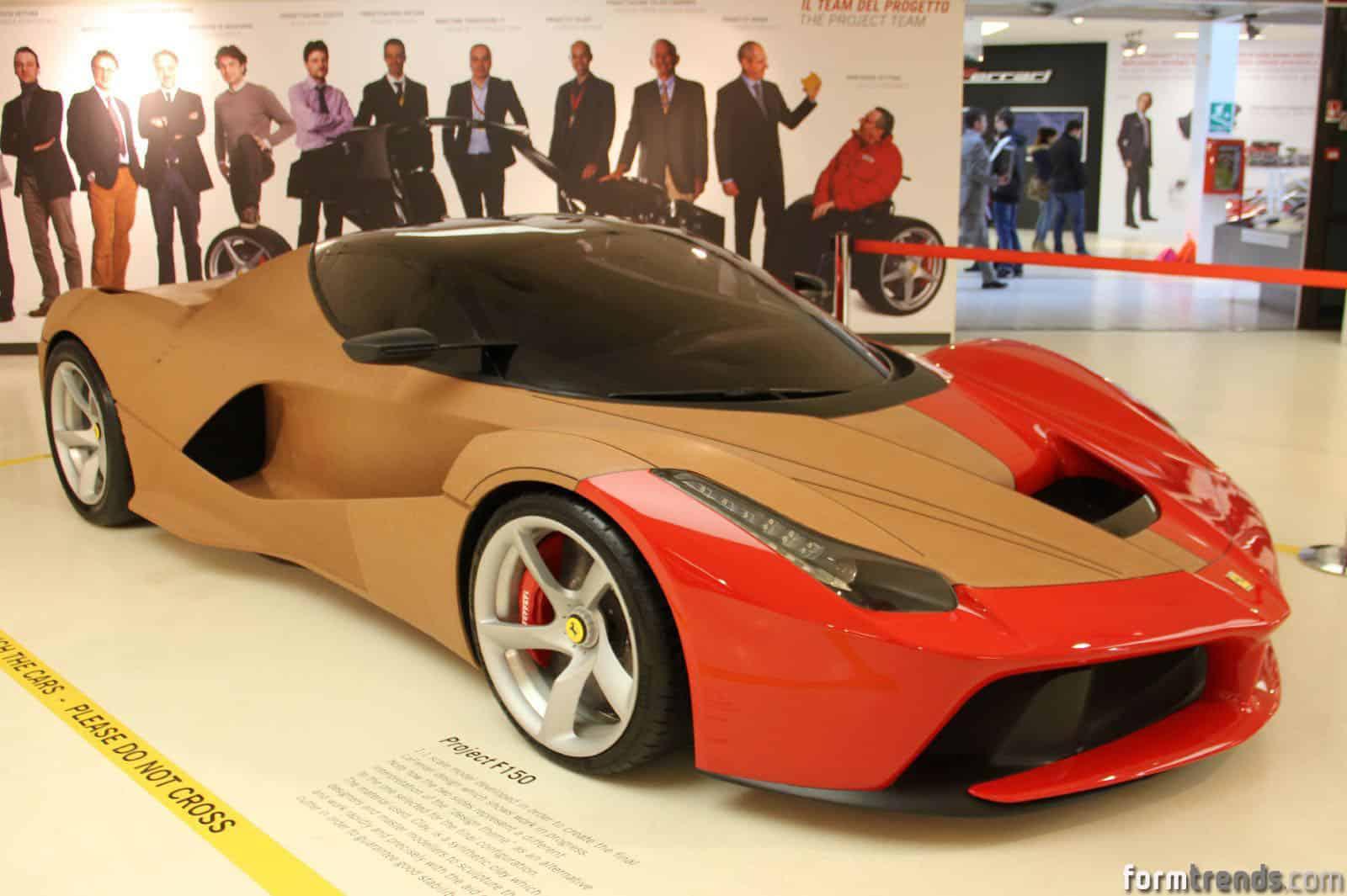 Ferrari Design Director Creates Laferrari Spacecraft