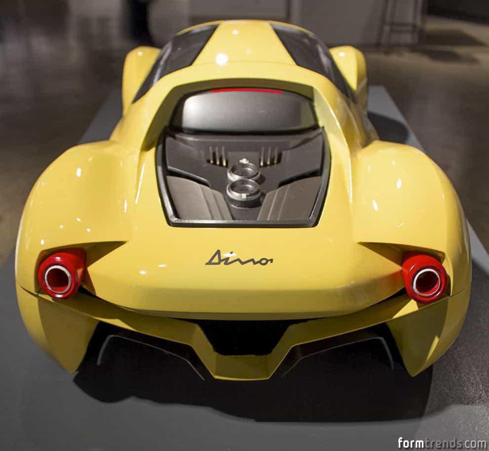 Ferrari Dino Concept By Art Center Grad Hojeong Kim