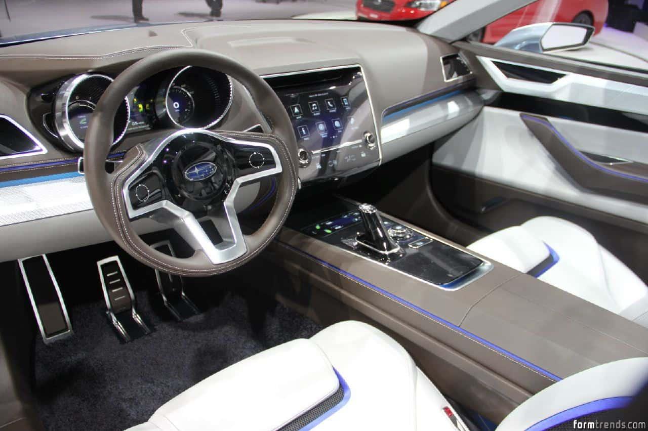Subaru legacy concept makes debut in la vanachro Image collections