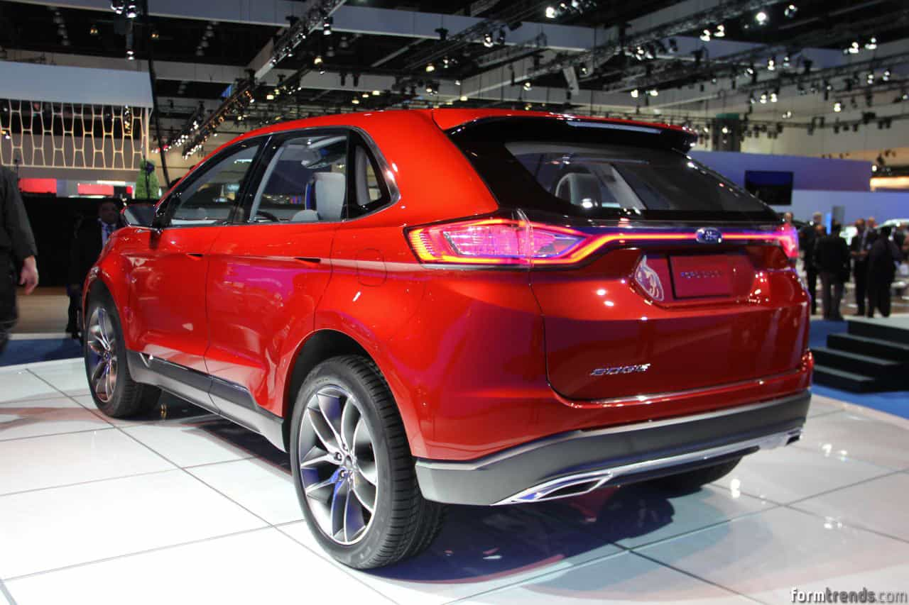 Ford Edge New Design Redesign and Review