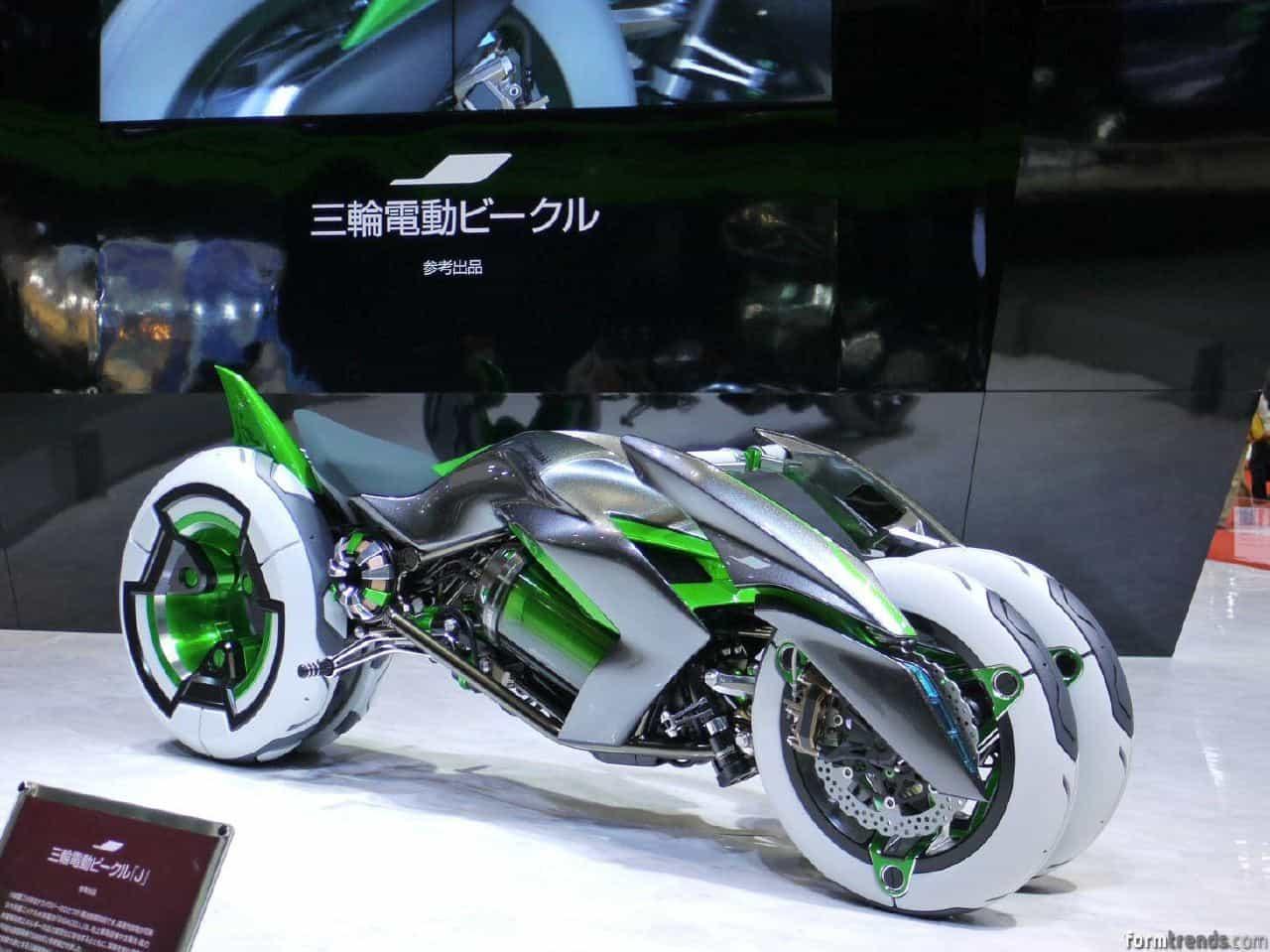 Kawasaki J Concept Rides Into Future