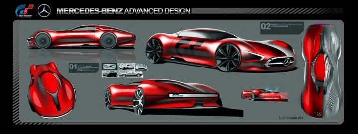 Huey Lee On The Mercedes Benz Amg Vision Gran Turismo