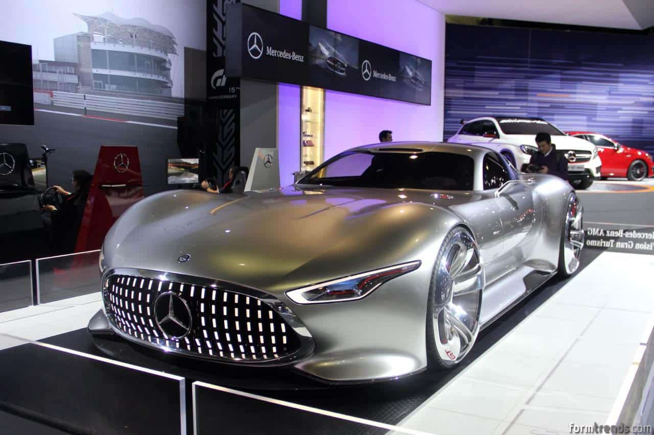 Making of mercedes 39 amg vision gran turismo for Mercedes benz amg vision