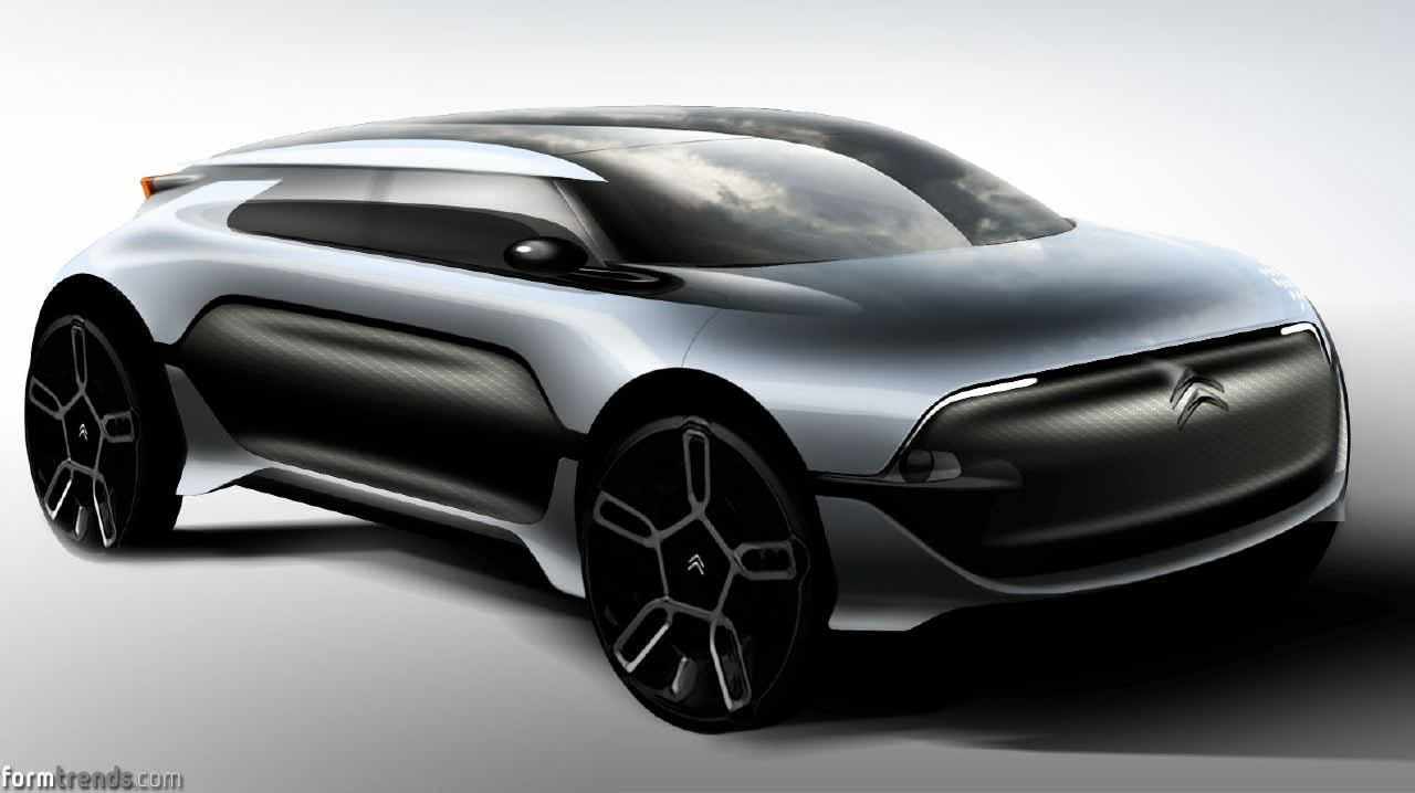 Citroen E3 Project Sketches And Renderings
