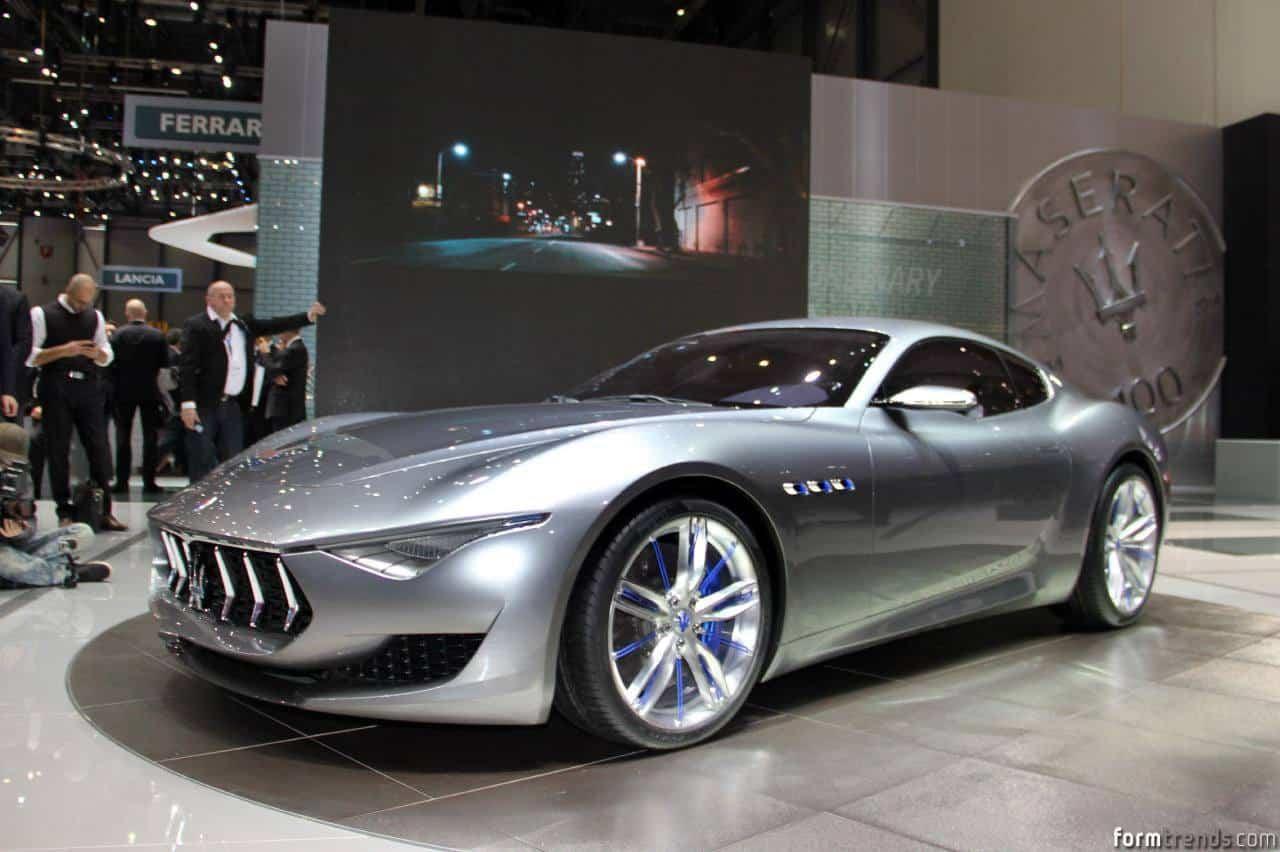 Maserati Alfieri Concept Previews New Halo Model