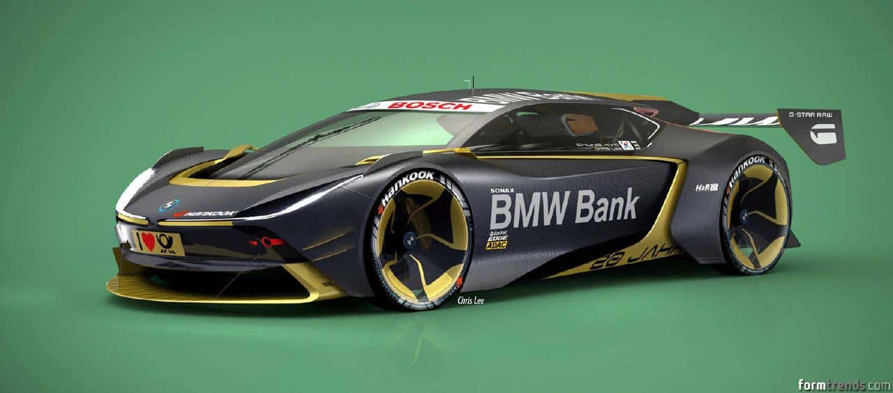 Designer Creates Bmwi Future Range