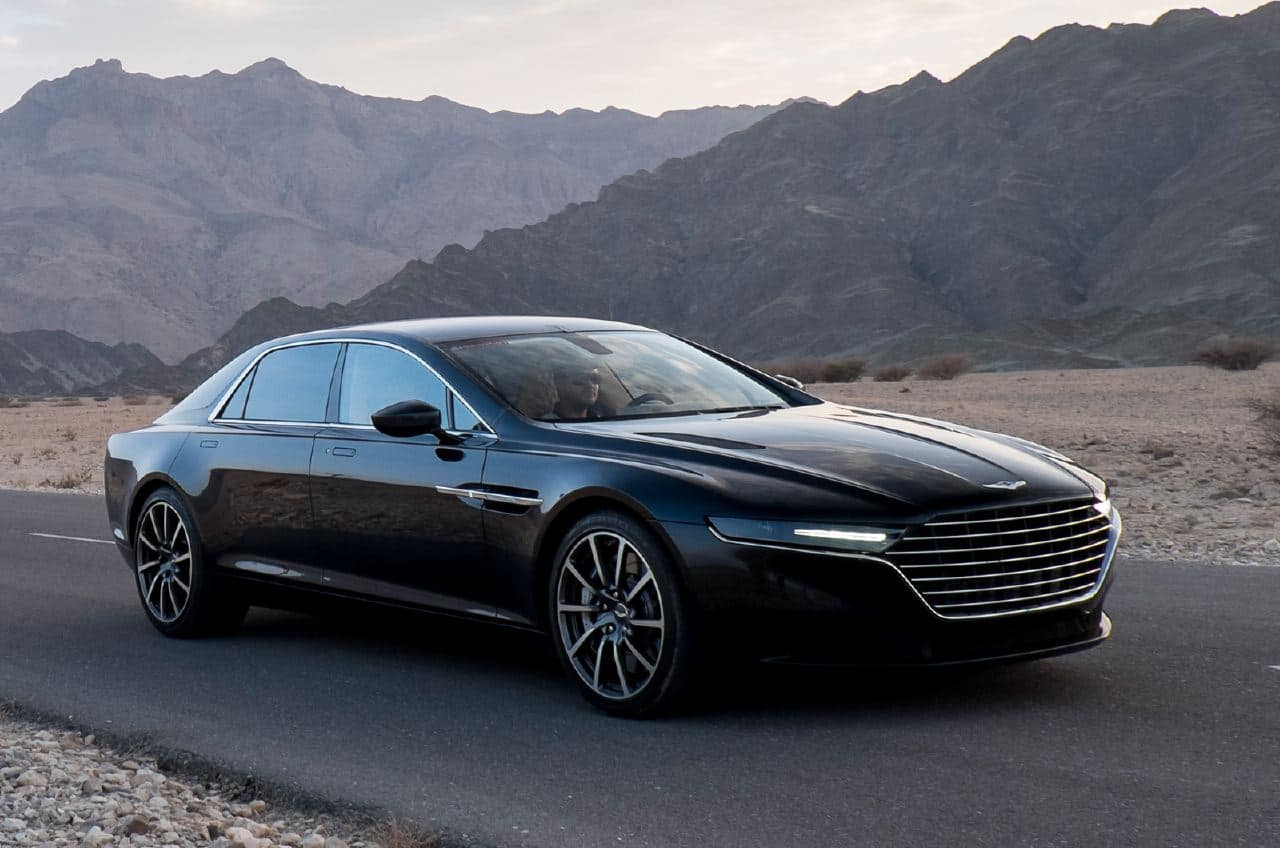 First Photos Of New Aston Martin Lagonda - Aston martin jobs