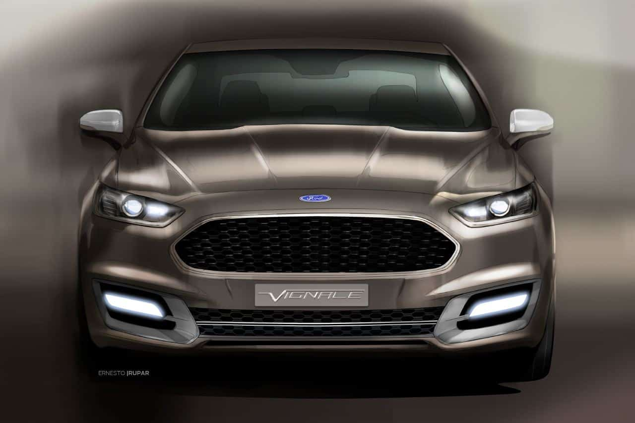 Luxury Car Vision >> Ford Shows Luxury Intent with Vignale