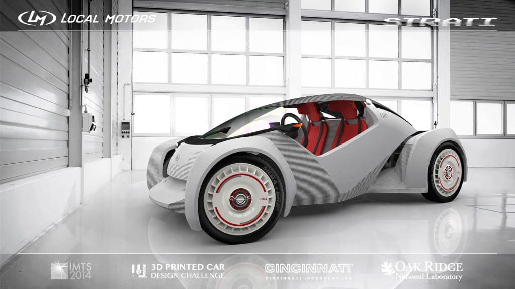 Watch local motors 3d print a new car for Local motors 3d printed car