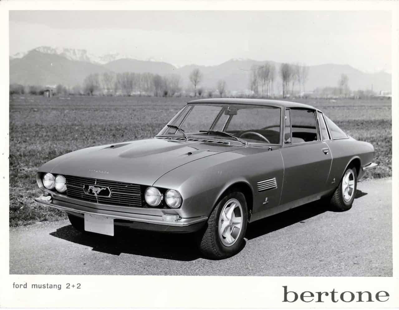 Giorgetto Giugiaro S Bertone Mustang Concept