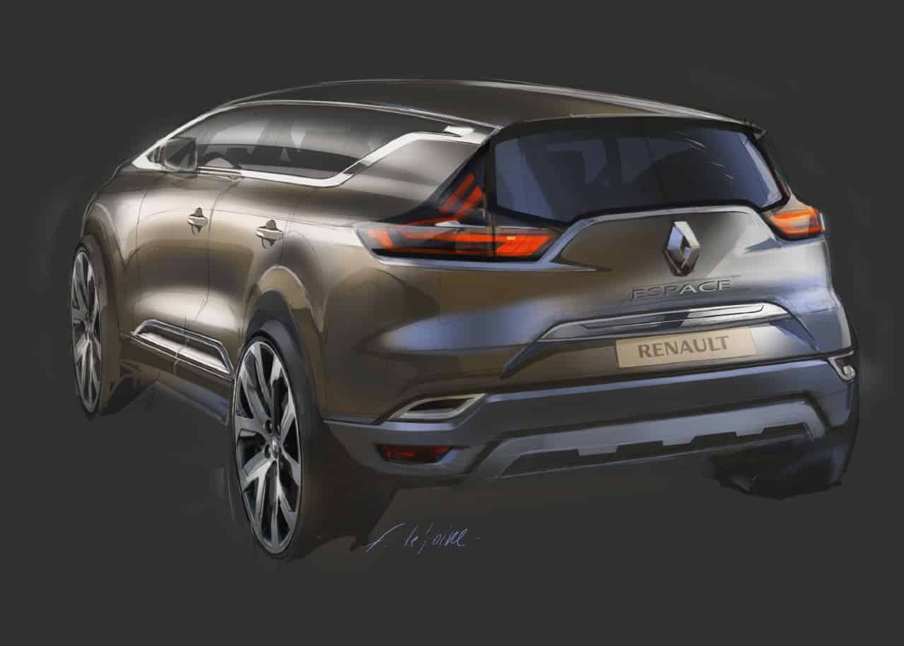 renault 39 s espace breaks new ground. Black Bedroom Furniture Sets. Home Design Ideas