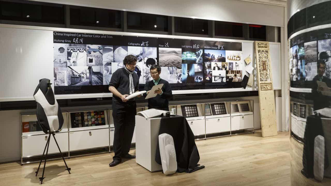 Mercedes Opens New Advanced Design Studio In China
