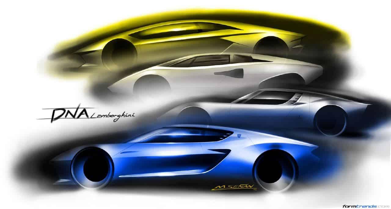 Filippo Perini On The Exterior Design Of The Lamborghini