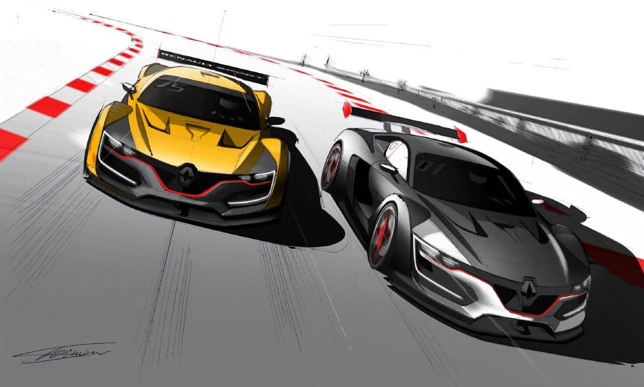 Renault Sport R.S. 01 Gestation Detailed