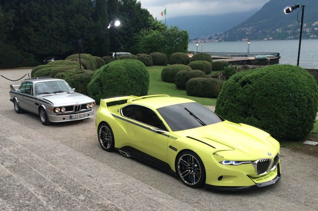 BMWs Hommage To The CSL - 3 0 bmw