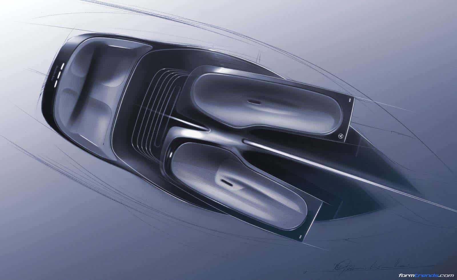Mercedes H20 Concept Rendering By Marcus Krautter Pforzheim 2015