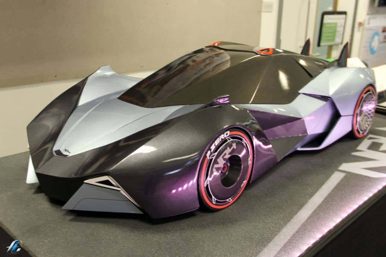 Rotary Engined NR4 Supercar Concept