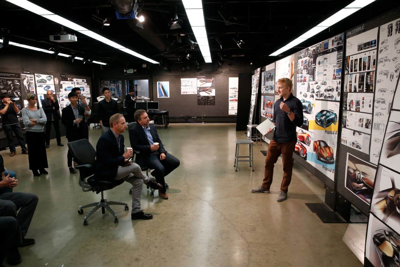 Jaguar design 39 s collaboration with art center and academy for Advanced interior designs reviews