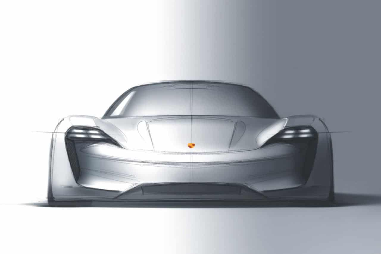 Porsche Mission E Concept Showcases Brand S Electric Intent