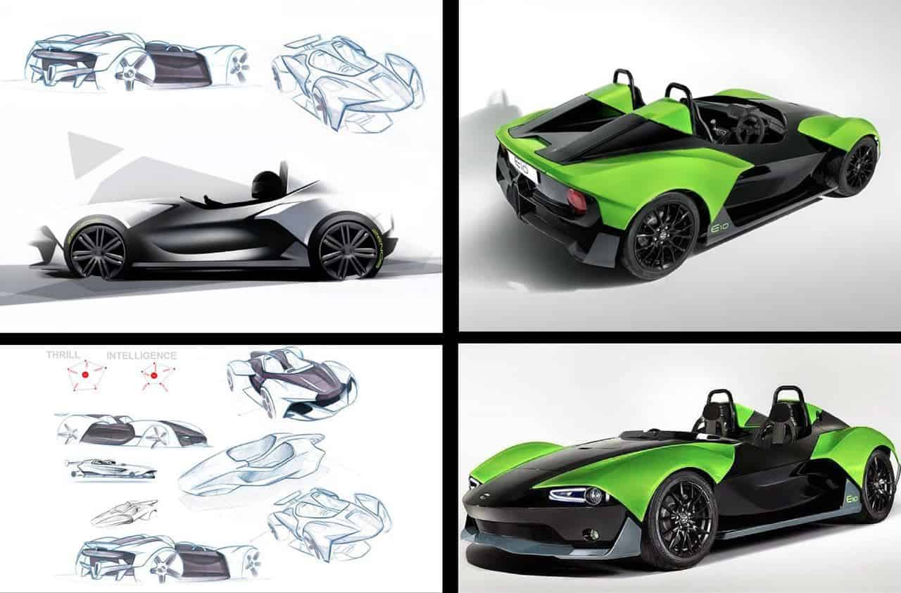 Basic design of a car - Two Senior Guys Who Were In Charge Of Caterham Prior To Its Acquisition By Fernandes Left The Company With The Intention Of Designing And Producing A Car