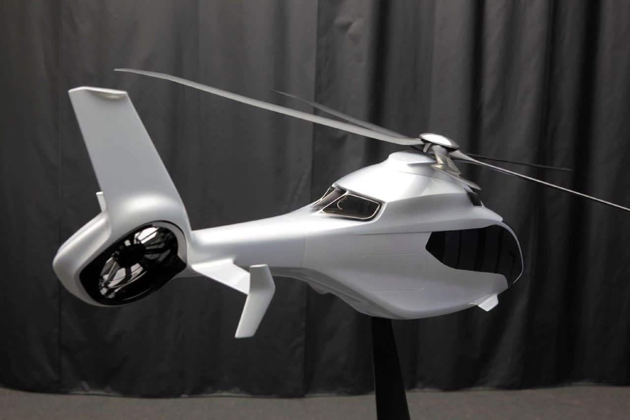 Peugeot Design Lab Designs Airbus H160 Helicopter