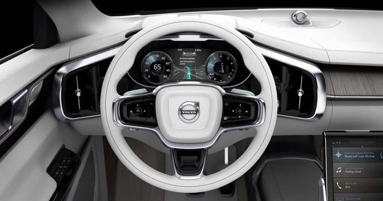 volvo concept 26 previews luxury autonomous interior. Black Bedroom Furniture Sets. Home Design Ideas