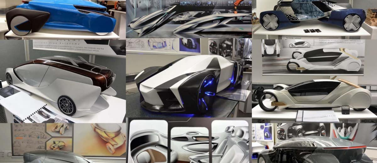 Coventry University MA Automotive Design And Vehicle Interiors Show 2015