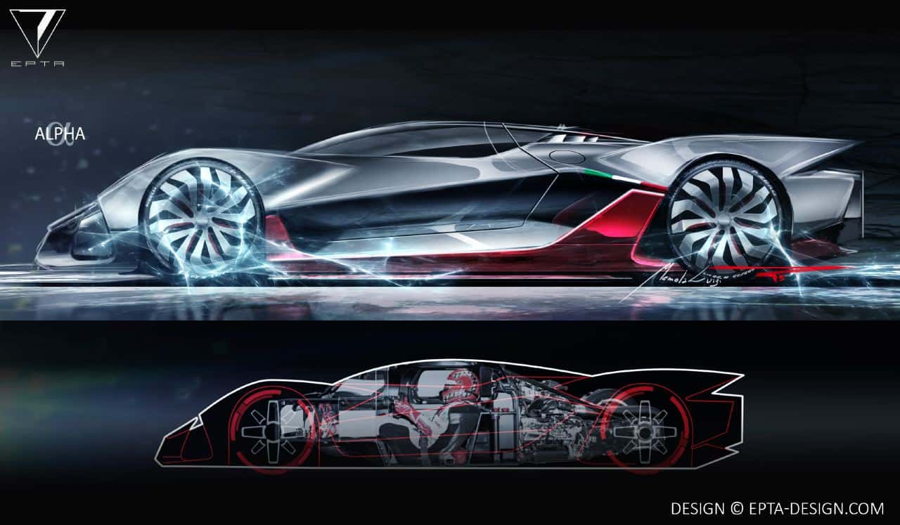 Epta Design Creates Electric Hypercar