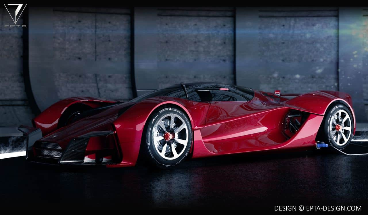 Different Ferrari Models >> EPTA Design Creates Electric Hypercar