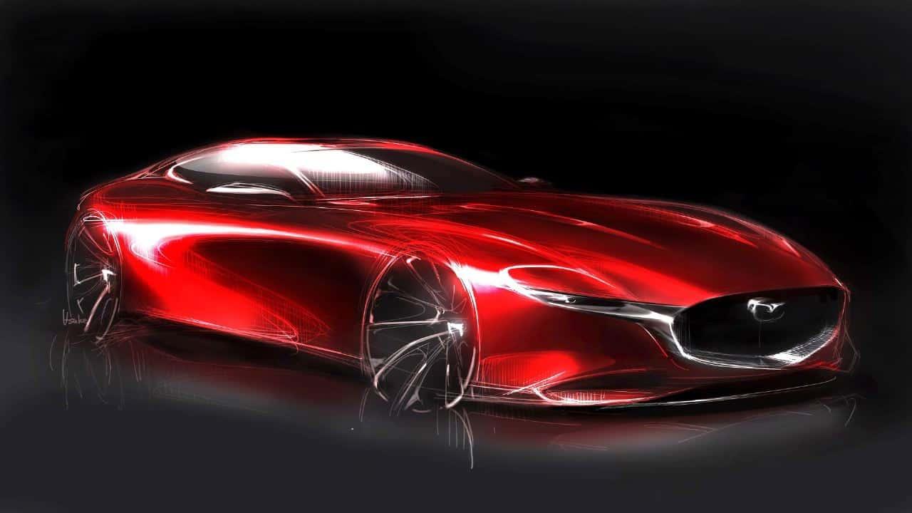 Mazda RX Vision Sketch