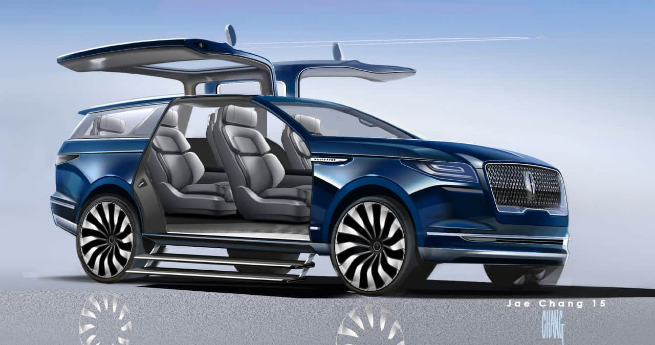 Lincoln Navigator Concept A Quot Very Spectacular Teaser Quot