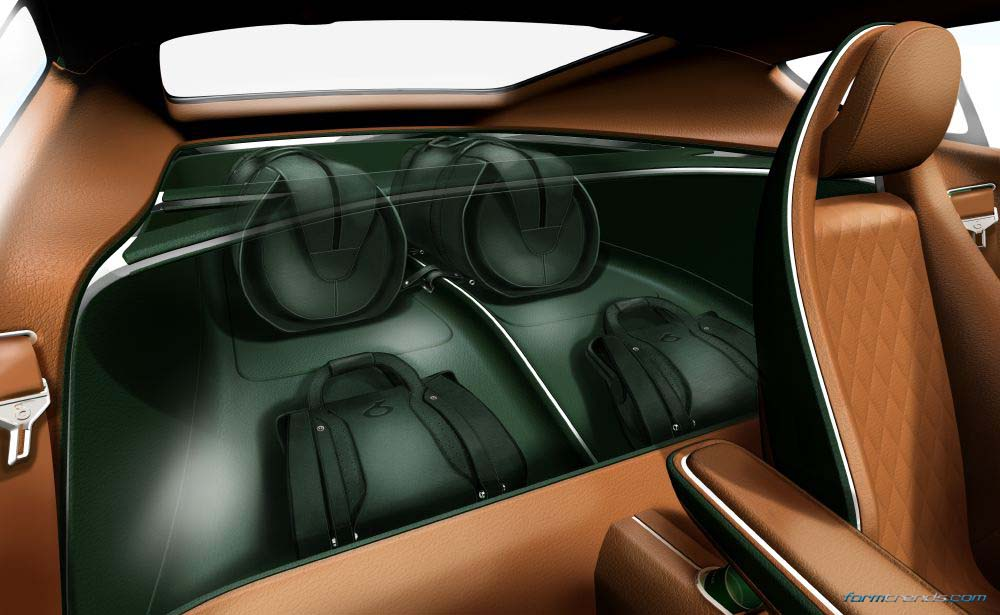 Bentley Interior Design Director on the EXP10 Speed6 Concept