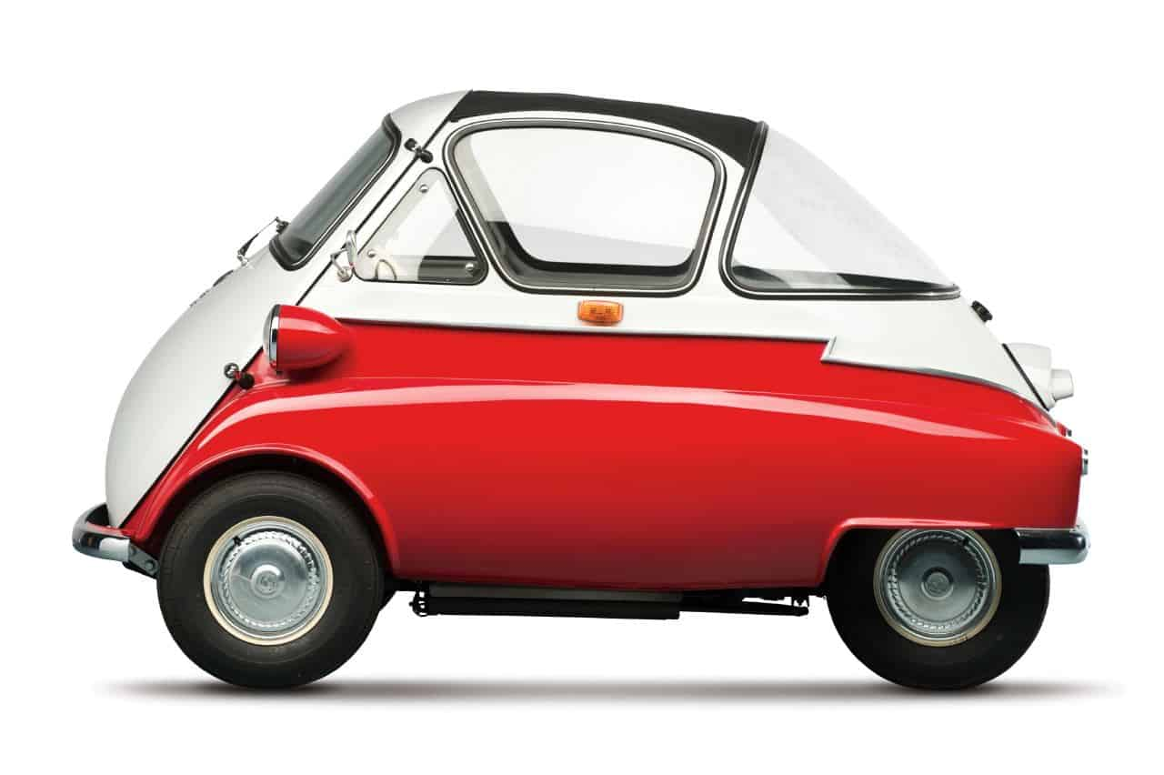 Revisting The Bmw Isetta